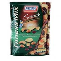 Fitness Mix Snack con Mandorle, Ananas, Anacardi, Papaia, Mirtilli