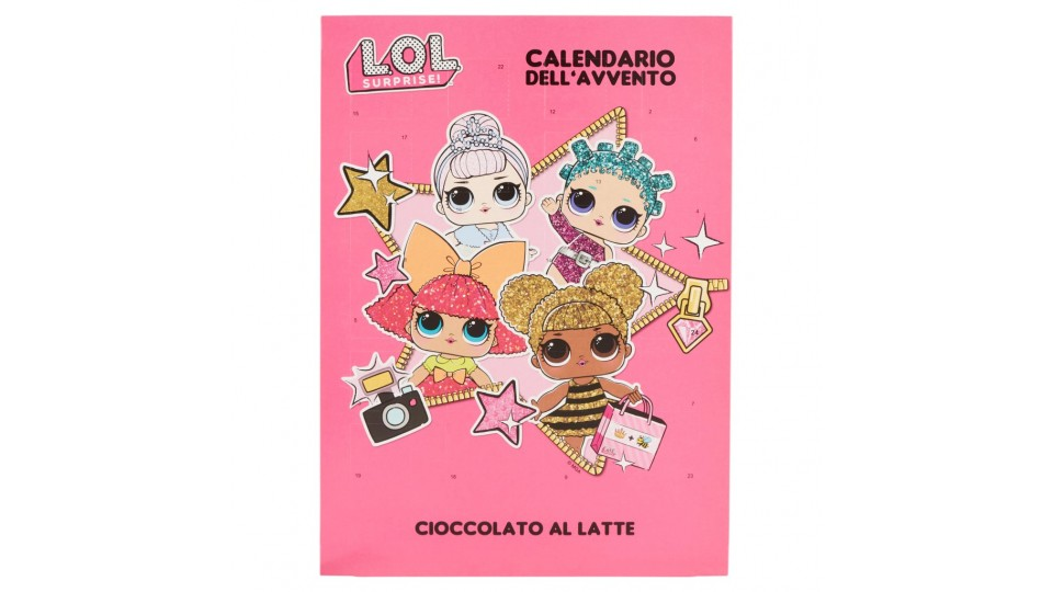 Lol Surprise Calendario Dellavvento.Walcor Calendario Dell Avvento Cioccolato Al Latte L O L Surprise Dolci Snack E Cioccolato Prezzo Cooplombardia