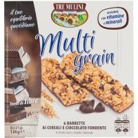 Barretta Cereali Cioccolato Fondente