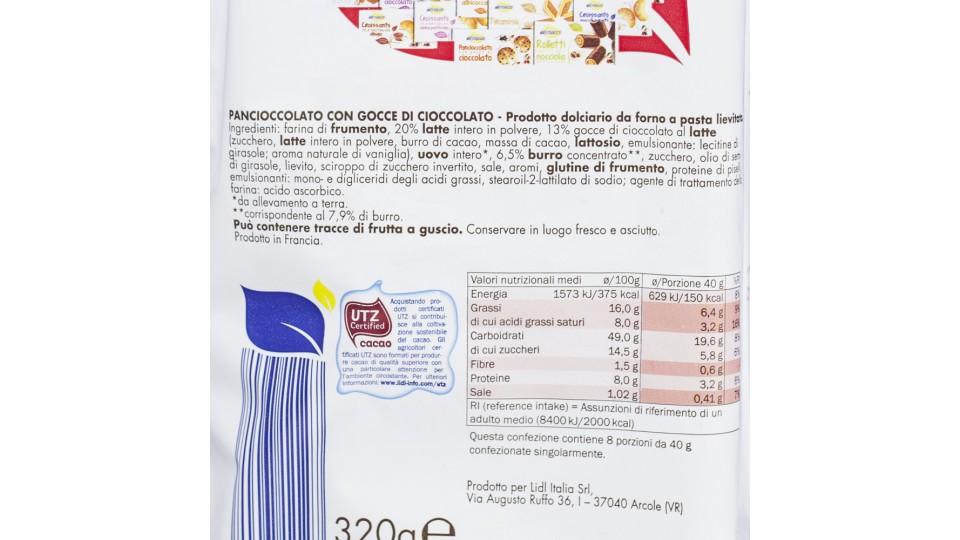 Pan Brioche Latte e Cioccolato