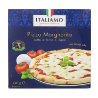 Pizza Margherita Cotta in Forno a Legna