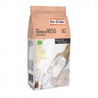 Farina Riso Integrale senza Glutine Bio