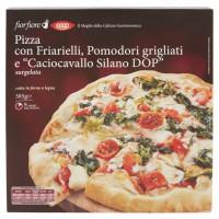 """Pizza con Friarielli, Pomodori Grigliati e """"caciocavallo Silano Dop"""" Surgelata"""