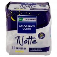 Assorbenti Ultra Notte con Ali in Bustina 10 Pz