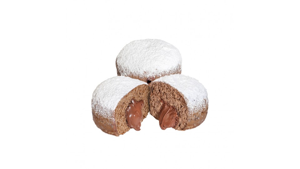 Krapfen Crema Choco Nussa
