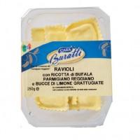 Ravioli senza Uova con Ricotta di Bufala Parmigiano e Bucce Limone