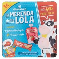 La Merenda della Lola 1 Yomino alla Fragola + 1 Snack Wafer 102,2 g
