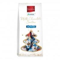 Babbi Natale di Cioccolato con Crema al Latte
