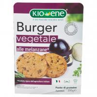 Burger vegetale alle melanzane, Kioene