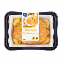 Milanese di Pollo con Patate