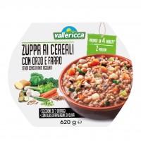 Zuppa ai Cereali con Orzo e Farro