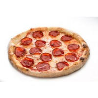 Pizza Margherita Farcita Salamino