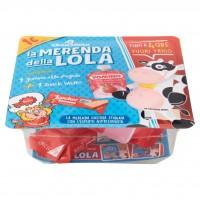 La Merenda della Lola 1 Yomino alla Fragola + 1 Snack Wafer 97,2 g