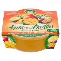 Cottin Tavola Apri E... Frutta! Purea di Frutta Ananas - Mango - Passion Fruit