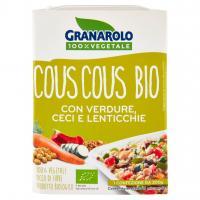 Granarolo 100% Vegetale Cous Cous Bio con verdure, ceci e lenticchie