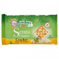 Mulino Bianco, Senza Glutine crackers al riso e rosmarino
