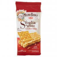 Mulino Bianco - Sfoglia di grano, Cracker Salati - 500 g. (20 Pacchetti)