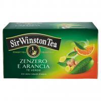 Sir Winston Tea Zenzero e arancia tè verde