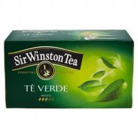 Sir Winston tè verde deteinato 20 bustine