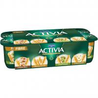 Activia Fibre 2 Avena Noci - 2 Bianco Cereali -2 Kiwi Cereali - 2 Pera Cereali
