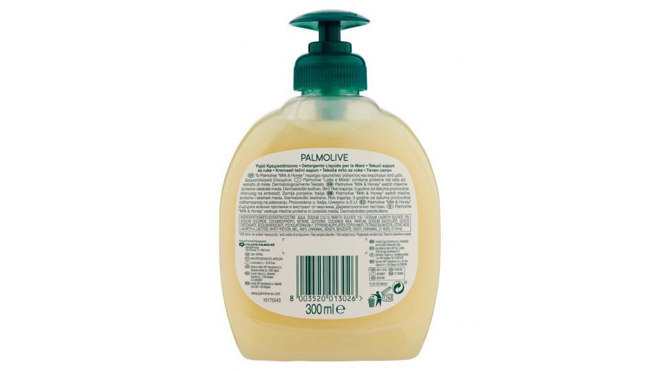 Palmolive Naturals Latte e Miele Detergente Liquido per le Mani Ricarica
