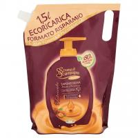 Spuma di Sciampagna Nutriente Saponecrema Argan e Patchouli Ecoricarica