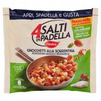 Findus 4 Salti in Padella Gnocchetti alla Sorrentina Pomodoro Basilico Mozzarella