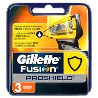 Gillette Fusion ProShield Lamette di Ricambio, 9 Testine, con Manico