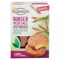 Sojasun burger vegetale asparagi