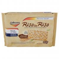 Galbusera - Riso su Riso, Cracker Integrali con Riso Soffiato