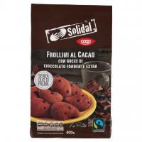 Frollini Al Cacao Con Gocce Di Cioccolato Fondente Extra
