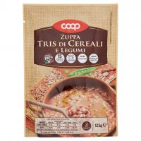 Zuppa Tris Di Cereali E Legumi