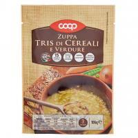 Zuppa Tris Di Cereali E Verdure
