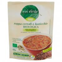 Zuppa Cereali E Lenticchie Biologica