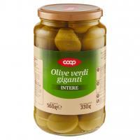 Olive Verdi Giganti Intere