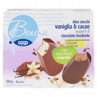 Mini Stecchi Vaniglia & Cacao Ricoperti Di Cioccolato Fondente