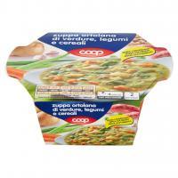 Zuppa Ortolana Di Verdure, Legumi E Cereali