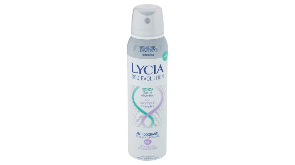 Lycia, Evolution deodorante spray
