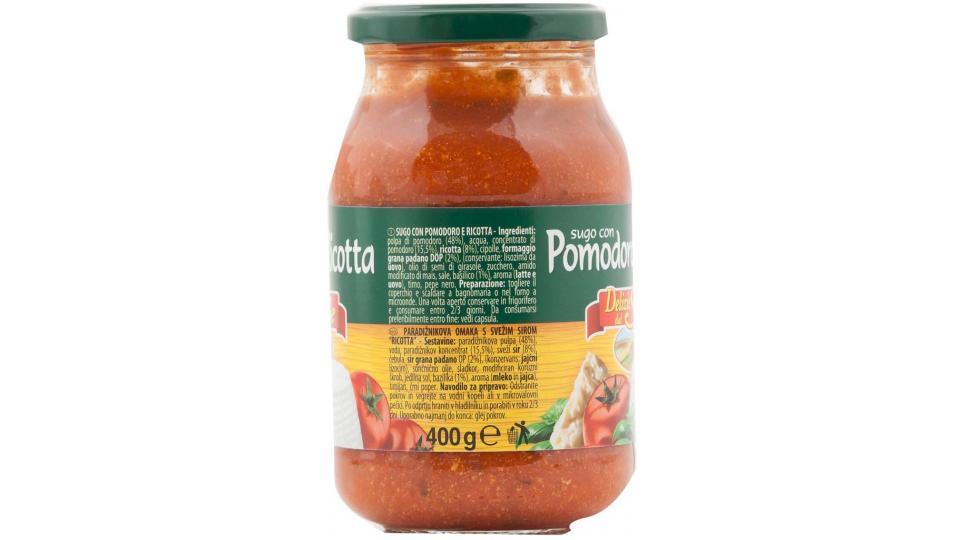 Sugo Pomodoro e Ricotta