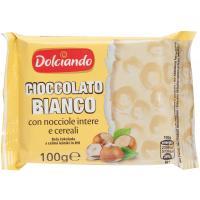 Cioccolato Bianco con Nocciole Intere
