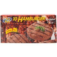 10 Hamburger di Bovino