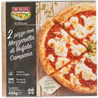 Pizze Mozzarella di Bufala Campana 2pz