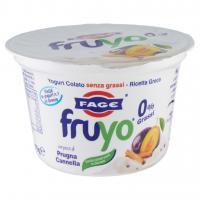 Fruyo 0% Grassi con Pezzi di Prugna Cannella
