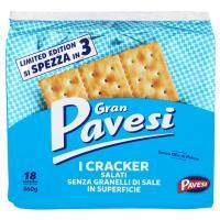 I Cracker Salati senza Granelli di Sale in Superficie