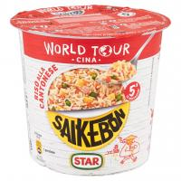 World Tour Cina Saikebon Riso alla Cantonese