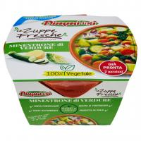Le Zuppe Fresche Ricetta Estiva Minestrone di Verdure con Soia Edamame