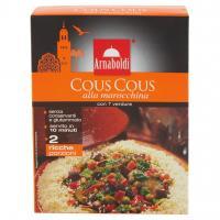 Cous Cous alla Marocchina con 7 Verdure