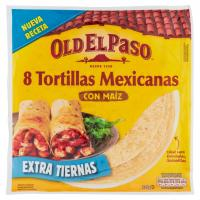 Tortillas Mexicanas con Maiz 8 x 41,88 g