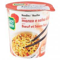 Noodles Gusto Manzo e Salsa di Soia