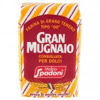 """Gran Mugnaio Farina di Grano Tenero Tipo """"00"""" per Dolci"""